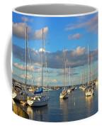 Summer Afternoon At Rockport Harbor Coffee Mug
