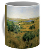 Summer At Shinnecock Hills Coffee Mug by William Merritt Chase