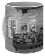 Summer Balcony In B W Coffee Mug