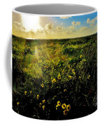 Summer Beach Daisy Coffee Mug