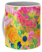 Summer Blossoms - Pop Art Coffee Mug