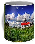 Summer Clouds At East Point Coffee Mug