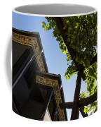 Summer Courtyard - Decorated Eaves And Grape Arbors In The Sunshine Coffee Mug