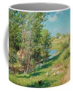 Summer Day By The Stream Coffee Mug