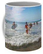 Summer Days Byron Waves Coffee Mug
