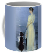 Summer Evening At Skagen Coffee Mug
