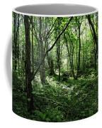 Summer Forest On A Sunny Day Coffee Mug