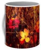 Summer Glow On Flowers Coffee Mug