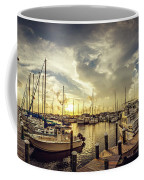 Summer Harbor Sunset Coffee Mug