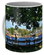 Summer In Marblehead, Ma Coffee Mug