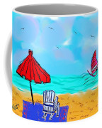 Summer On Nantasket Coffee Mug