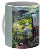 Summer On The Back Road In Vermont Coffee Mug