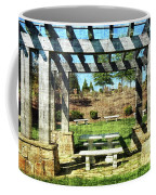 Summer Pergola Rest Spot Coffee Mug