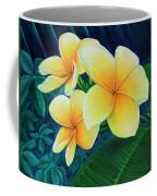 Summer Plumeria Coffee Mug