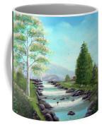 Summer Raging Waters Coffee Mug