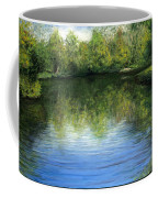 Summer River Coffee Mug