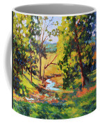 Summer Shadows Coffee Mug