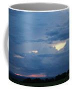 Summer Storm Moving In Corinna Maine  Coffee Mug