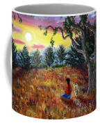 Summer Sunset Meditation Coffee Mug