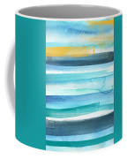 Summer Surf 2- Art By Linda Woods Coffee Mug