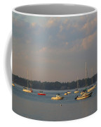 Summer Time At Little Neck Bay Coffee Mug