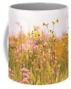Summer Wildflower Field Of Sunflowers Coffee Mug