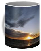 Sun And Clouds Coffee Mug