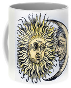 Sun And Moon, 1493 Coffee Mug