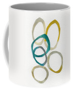Sun And Sky- Abstract Art Coffee Mug