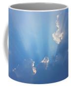 Storm Clouds And Sun Coffee Mug