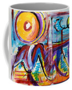 Sun And Waves Coffee Mug
