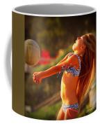 Sun Beach Girl Coffee Mug