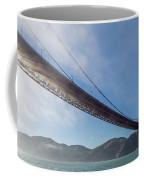 Sun Beams Through The Golden Gate Coffee Mug by Scott Campbell