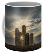 Sun Burst Silos Coffee Mug