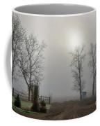 Sun Filtered Through Fog Coffee Mug