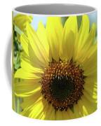 Sun Flower Glow Art Print Summer Sunflowers Baslee Troutman Coffee Mug