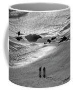 Sun Glow Black And White Coffee Mug