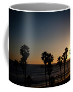 Sun Going Down In California Coffee Mug