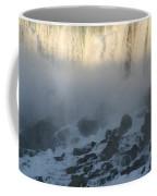 Sun Going Down On American Falls Coffee Mug