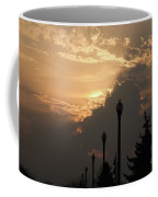 Sun In A Cloud Of Glory Coffee Mug