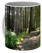 Sun In The Forest. Coffee Mug