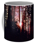 Sun In The Forest Two  Coffee Mug