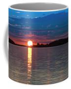 Sun Is Setting Over Port Hood Island Coffee Mug