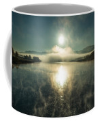 Sun O'er Missouri River Coffee Mug