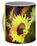 Sun Of The Flower Coffee Mug by Michael Hope