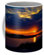 Sun Peaking Through Coffee Mug