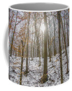 Sun Peaking Through The Trees - Fairmount Park Coffee Mug