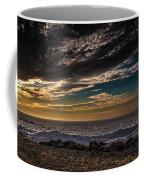 Sun Peeks Through Coffee Mug