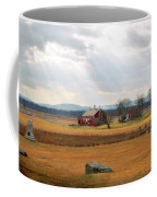 Sun Rays On Codori Farm. Coffee Mug