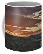 Sun Rays On Colorado Sage Coffee Mug